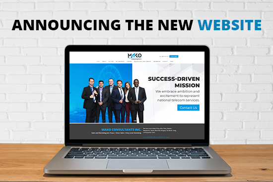 Announcing the New Website - Mako Consultants Inc Dallas.png